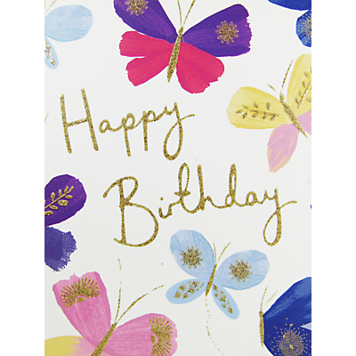 Product photo of Woodmansterne happy birthday greeting card