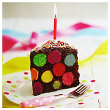Buy Paper Rose Spotty Cake Greeting Card Online at johnlewis.com