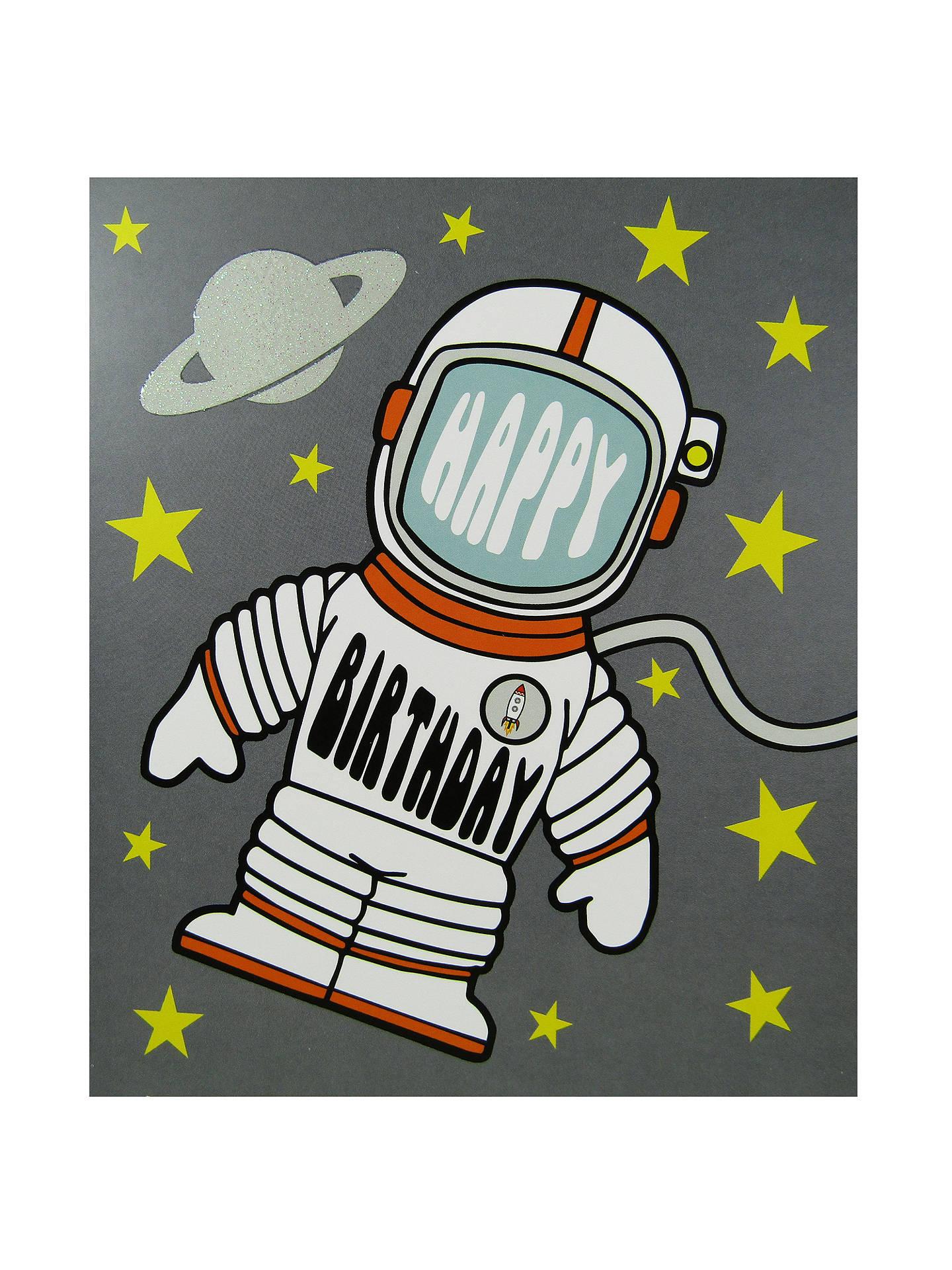 Buy Portfolio Rocket Man Birthday Card Online At Johnlewis