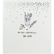 Buy The Proper Mail Company Gin And Tonic Birthday Card Online at johnlewis.com