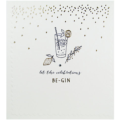 Buy The Proper Mail Company Gin And Tonic Birthday Card – Birthday Card Mail