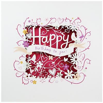 Paperlink Happy Birthday Greeting Card