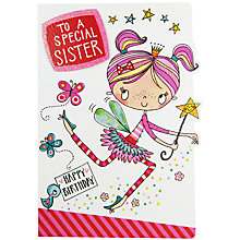 Buy Rachel Ellen Special Sister Birthday Card Online at johnlewis.com