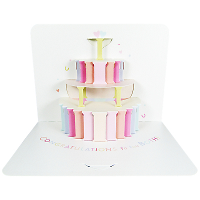 Art File Wedding Cake Congratulations Card