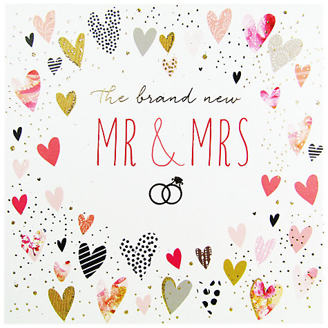 buy portfolio mr mrs wedding card online at johnlewiscom