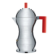Buy Alessi Pulcina Espresso Maker, 6 Cup, Induction Online at johnlewis.com