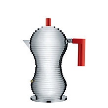 Buy Alessi Pulcina Espresso Maker, 3 Cup, Induction Online at johnlewis.com