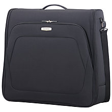 Buy Samsonite Spark SNG Garment Bag, Black Online at johnlewis.com