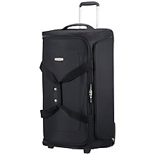 Buy Samsonite Spark SNG Wheeled Duffle, Black Online at johnlewis.com