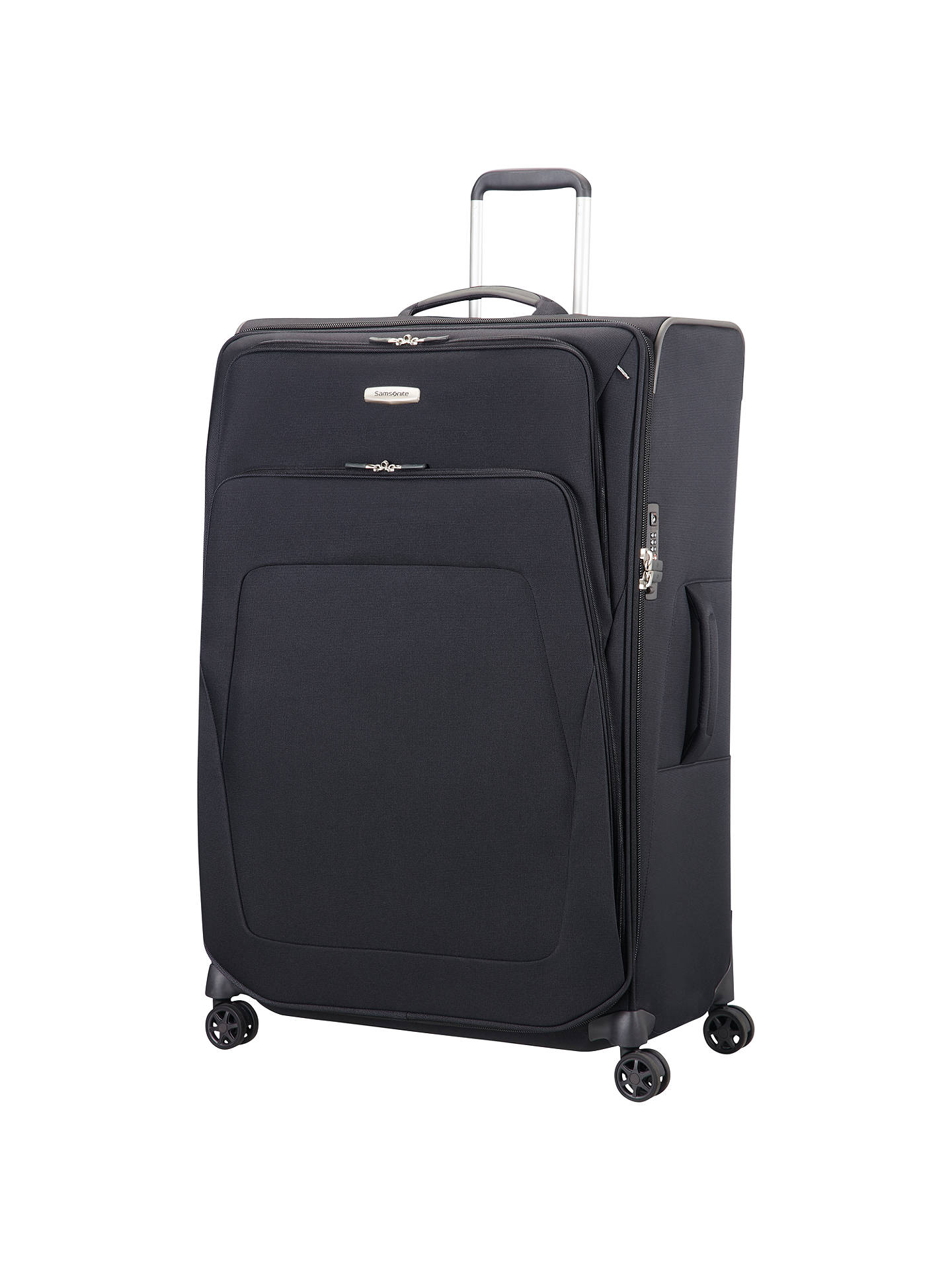 Buy Samsonite Spark SNG 82cm 4-Wheel Suitcase, Black Online at johnlewis.com