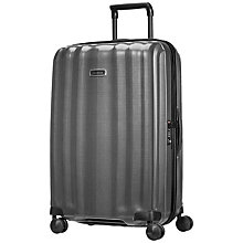 Buy Samsonite Litecube DLX Spinner 4-Wheel 76cm Suitcase, Eclipse Grey Online at johnlewis.com