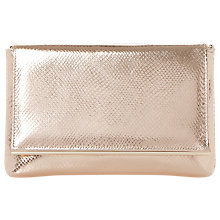 Buy Dune Buz Clutch Bag, Rose Gold Online at johnlewis.com