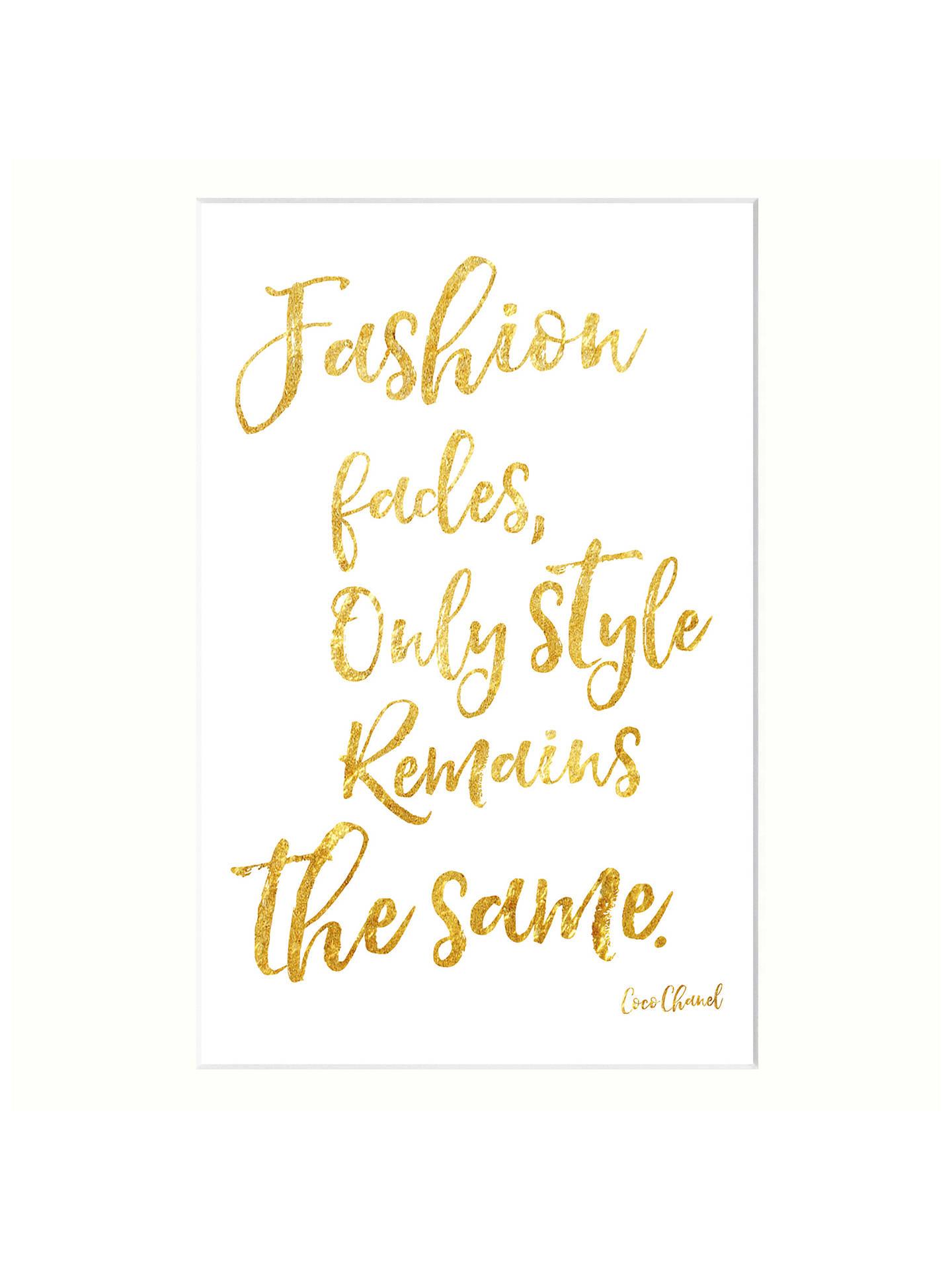 John Lewis Fashion Fades Unframed Print, 30 x 40cm at John Lewis ...