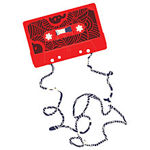 Buy House by John Lewis, Hello Marine - Tape Cassette Unframed Print, 30 x 40cm Online at johnlewis.com