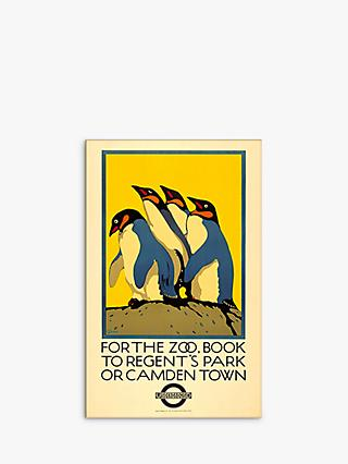 London Transport Museum - For The Zoo Print & Mount, 30 x 40cm