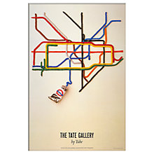 Buy London Transport Museum - Tate Gallery Unframed Print, 30 x 40cm Online at johnlewis.com