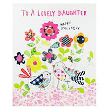 Buy Paper Salad Daughter Birthday Card Online at johnlewis.com