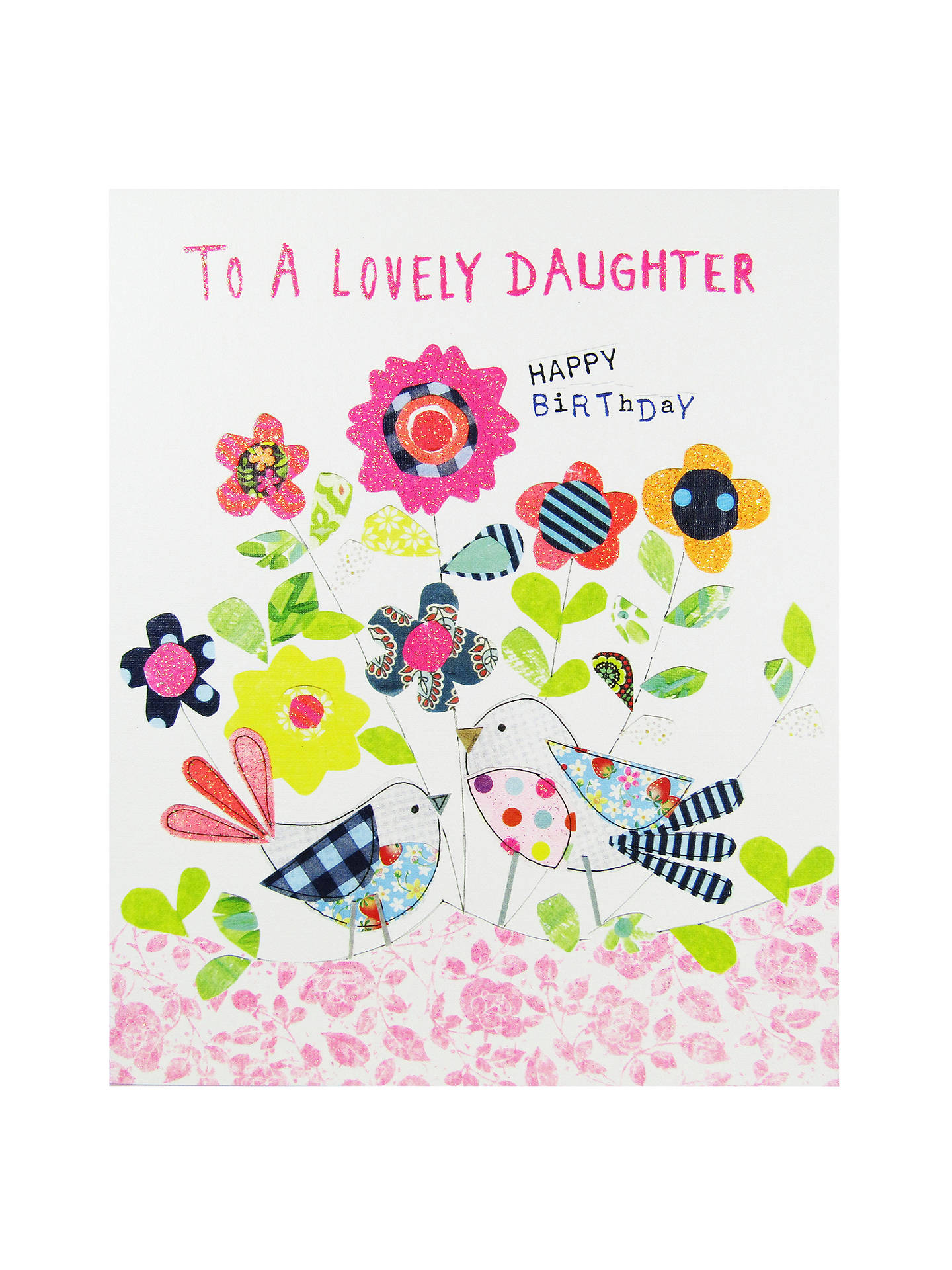 Buy Paper Salad Daughter Birthday Card Online At Johnlewis