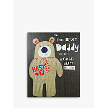 Buy Paper Salad Best Daddy Birthday Card Online at johnlewis.com