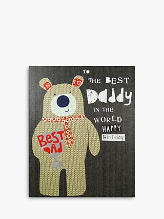 Paper Salad Best Daddy Birthday Card