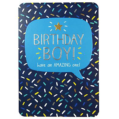 Pigment Birthday Boy Birthday Card