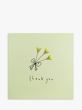 Ruth Jackson Flowers Thank You Card