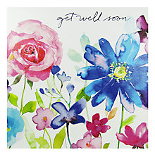 Buy Mint Joyful Blooms Greeting Card Online at johnlewis.com