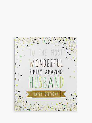 Birthday Husband Greetings Cards John Lewis Partners