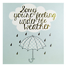 Buy Really Good Under The Weather Card Online at johnlewis.com