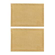 Buy John Lewis Glitter Cotton Placemats, Set of 2 Online at johnlewis.com