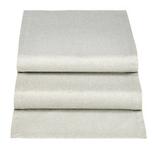 Buy John Lewis Glitter Cotton Table Runner, 200cm Online at johnlewis.com