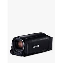 "Buy Canon LEGRIA HF R86 Camcorder, HD 1080p, 3.28MP, 57x Advanced Zoom, Optical Image Stabiliser, Wi-Fi, NFC, 3"" Vari-angle Touch Screen LCD Display with 16GB Internal Memory Online at johnlewis.com"