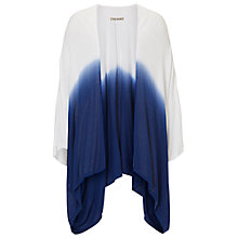 Buy Betty Barclay Fine Knit Kimono Cardigan, White / Dark Blue Online at johnlewis.com