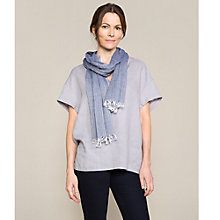 Buy East Cross Dye Scarf, Lake Online at johnlewis.com