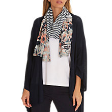 Buy Betty Barclay Long Striped Scarf, Multi Online at johnlewis.com