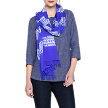 Buy East Ensign Shibori Print Scarf, Multi Online at johnlewis.com