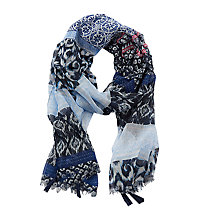 Buy Betty Barclay Multi-Print Scarf, Blue Online at johnlewis.com