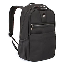 "Buy Wenger 15"" Laptop & Tablet Backpack, Black Online at johnlewis.com"