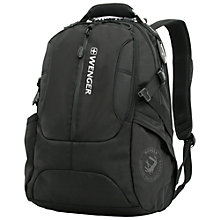 "Buy Wenger 15"" Laptop Backpack, Black Online at johnlewis.com"