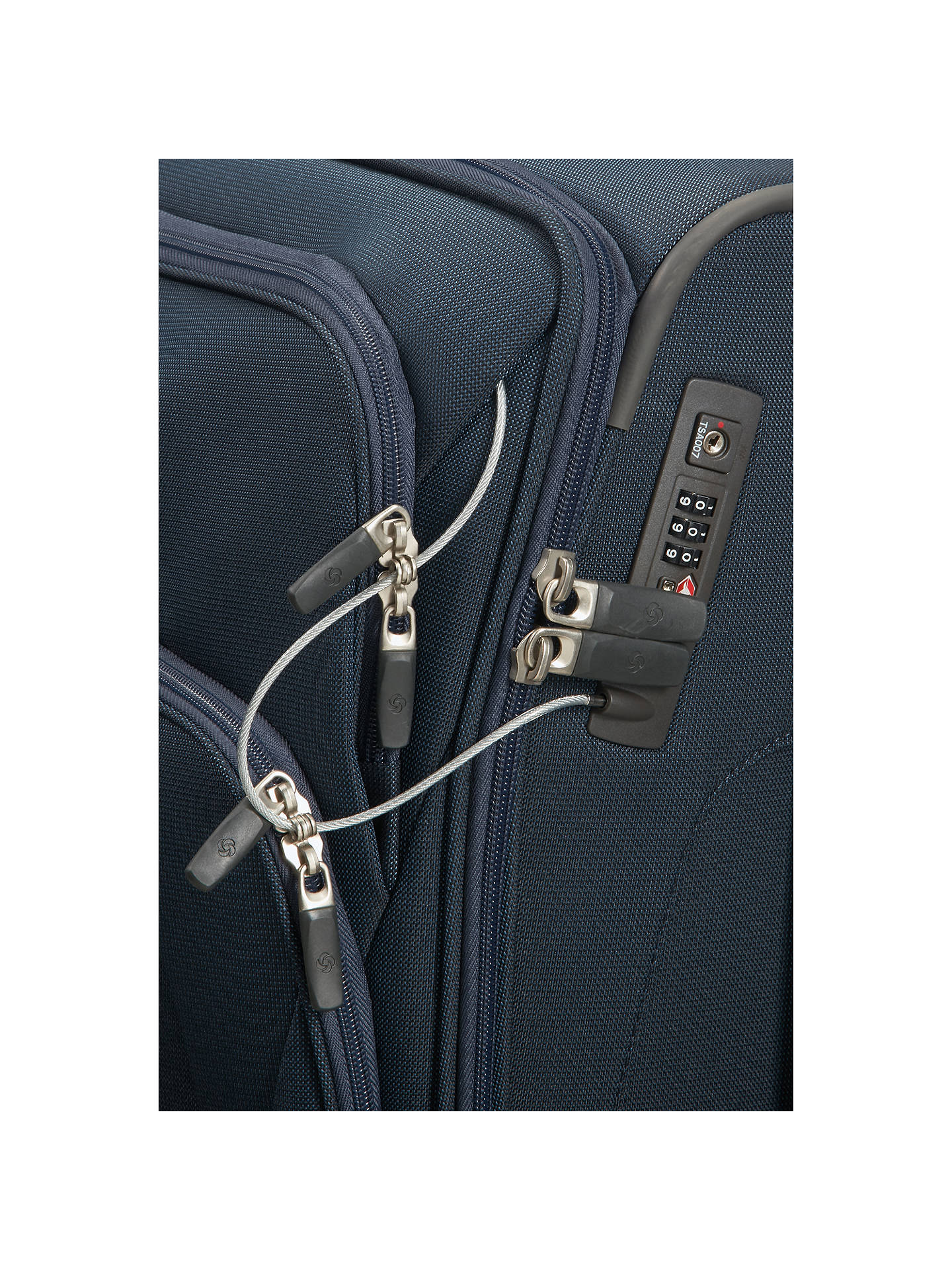 Buy Samsonite Spark SNG 55cm 4-Wheel Cabin Case, Blue Online at johnlewis.com