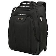 "Buy Wenger 17"" Laptop Backpack, Black Online at johnlewis.com"
