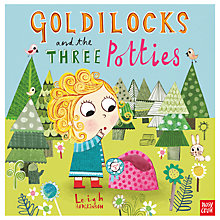 Buy Goldilocks The Three Potties Children's Book Online at johnlewis.com