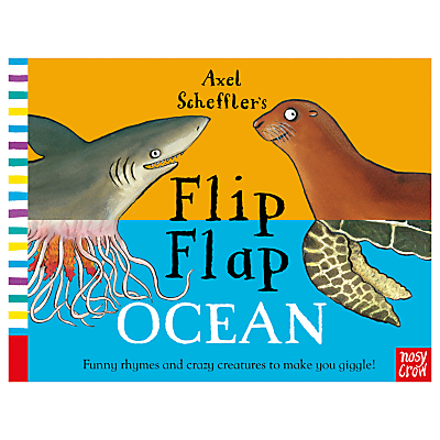 Flip Flap Ocean Children's Book