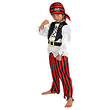 Buy Raggy Pirate Dressing-Up Costume and Trousers Online at johnlewis.com