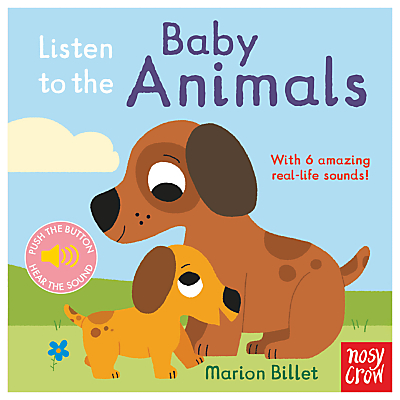 Listen To The Baby Animals Children's Book