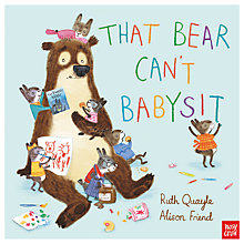 Buy That Bear Can't Babysit Children's Book Online at johnlewis.com