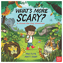 Buy What's More Scary? Children's Book Online at johnlewis.com