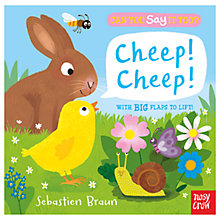 Buy Say It Too? Cheep Cheep! Children's Book Online at johnlewis.com