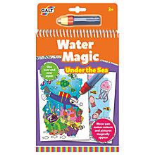 Buy Galt Water Magic Under The Sea Colouring Online at johnlewis.com