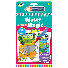 Buy Galt Water Magic Safari Colouring Online at johnlewis.com